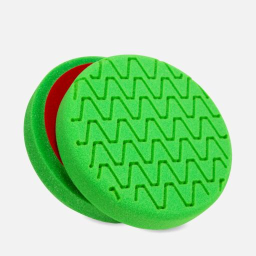 Wavy Line Foam Polishing Pads